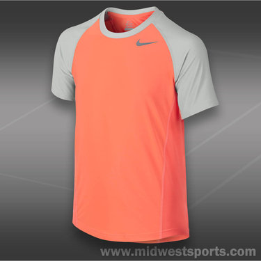 Nike Boys Advantage UV Crew-Turf Orange