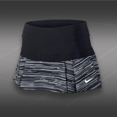 Nike Victory Printed Pleated Skirt-Black