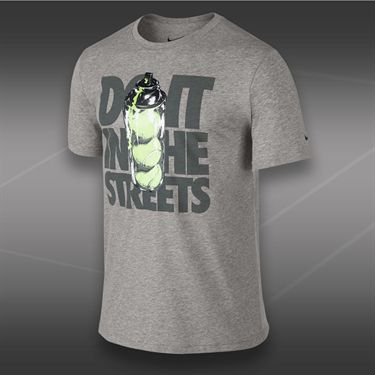 Nike JDI Streets T-Shirt-Dark Grey Heather