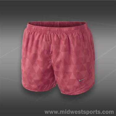 Nike Printed Tempo Short- Geranium