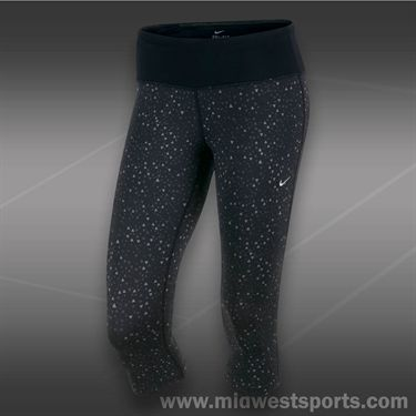 Nike Epic Run Capri-Black