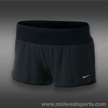 Nike Printed Rival Short-Anthracite