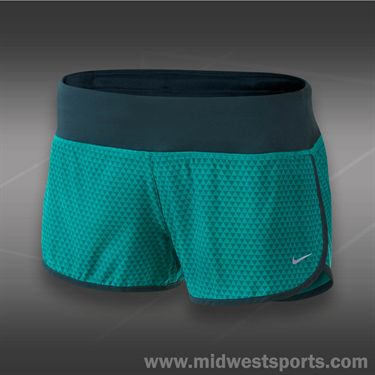 Nike Printed Rival Short-Turbo Green