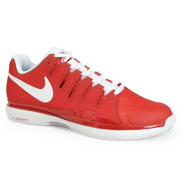 Nike Zoom Vapor 9.5 Tour Clay Mens Tennis Shoe - University Red/White