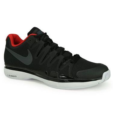 Nike Zoom Vapor 9.5 Tour Mens Tennis Shoe - Black/Anthracite/White/University Red