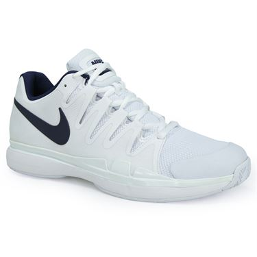 Nike Zoom Vapor 9.5 Tour Mens Tennis Shoe - White/Binary Blue