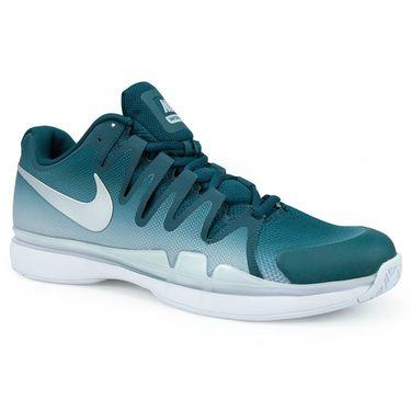 Nike Air Zoom Vapor 9.5 Tour Mens Tennis Shoe - Dark ATomic Teal/Metallic Silver/White