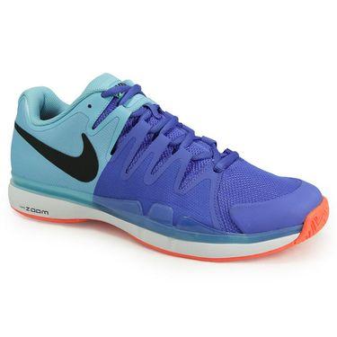 Nike Zoom Vapor 9.5 Tour Mens Tennis Shoe - Polarized Blue/Black/Medium Blue