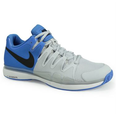Nike Zoom Vapor 9.5 Tour Mens Tennis Shoe - Lite Photo Blue/Black/Pure Platinum/White