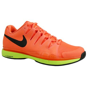 Nike Zoom Vapor 9.5 Tour Mens Tennis Shoe - Lava Glow/Black/Hyper Orange/Volt