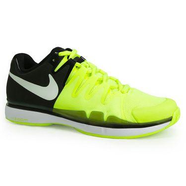 Nike Zoom Vapor 9.5 Tour Mens Tennis Shoe - Volt/White/Black