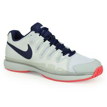 Nike Zoom Vapor 9.5 Tour Womens Tennis Shoe - White/Binary Blue/Pure Platinum
