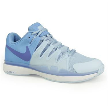 Nike Zoom Vapor 9.5 Tour Womens Tennis Shoe - Ice Blue/Comet Blue/University Blue
