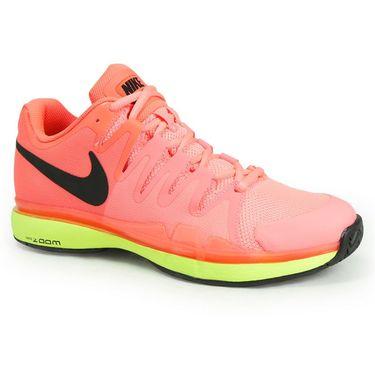 Nike Zoom Vapor 9.5 Tour Womens Tennis Shoe - Hyper Orange/Black/Volt