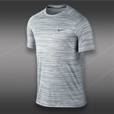 Nike Advantage Graphic Crew-Ivory