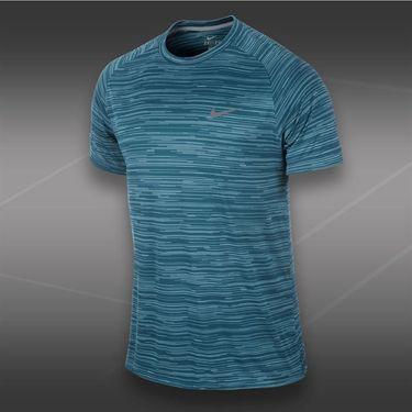 Nike Advantage Graphc Crew-Rift Blue