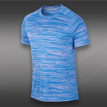 Nike Advantage Graphic Crew-Light Magenta