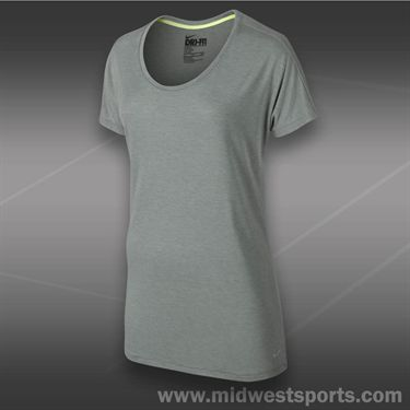 Nike Club Boyfriend Top-Dark Grey Heather