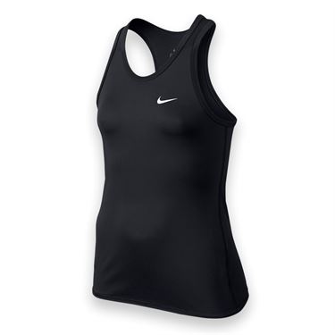 Nike Girls Advantage Power Tank-Black