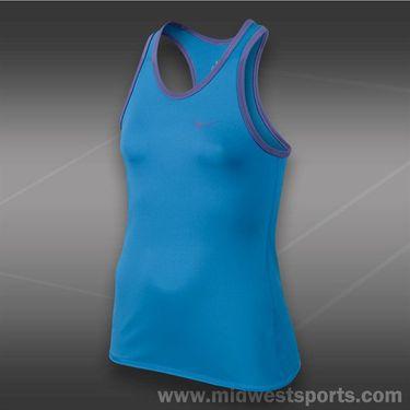 Nike Girls Advantage Power Tank-Light Photo Blue