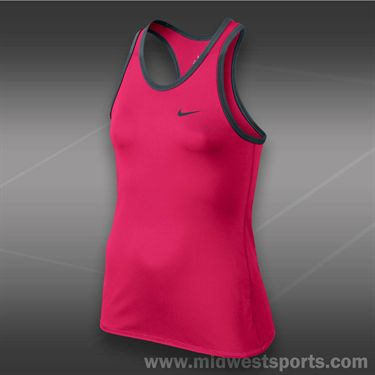 Nike Girls Advantage Power Tank-Fuchsia