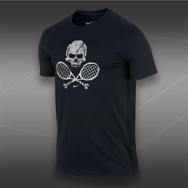 Nike Skull and Racquets T-Shirt 2-Black