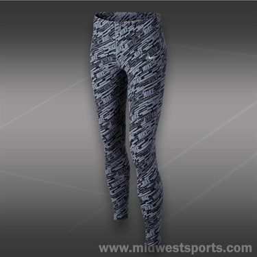 Nike Girls Leg A See Tight-Magnet Grey