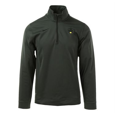 Nike W&S Dri Fit 1/2 Zip Top  - Anthracite