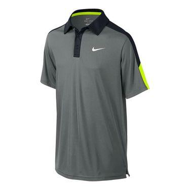 Nike Boys Power Polo - Dark Steel Grey