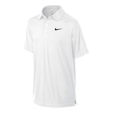 Nike Boys Court Polo-White