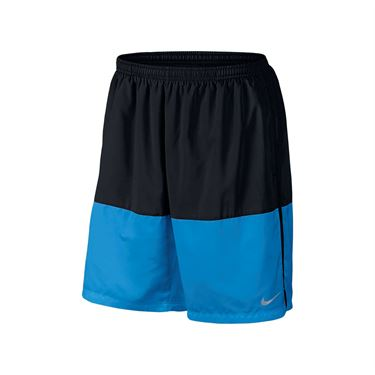 Nike Flex Running Short - Black/Light Photo Blue