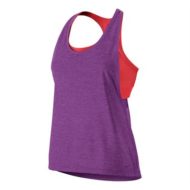 Nike Pro Inside Loose Tank - Cosmic Purple