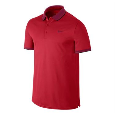 Nike Court Polo - University Red