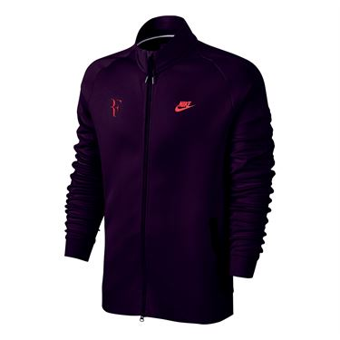 Nike RF Jacket - Purple Dynasty/Bright Mango
