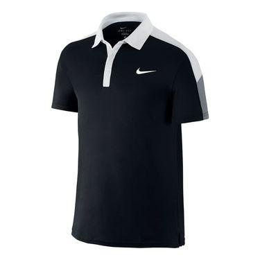 Nike Team Court Polo-Black