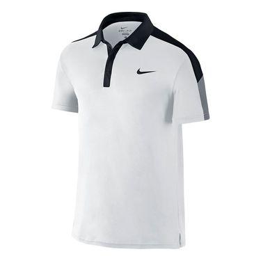 Nike Team Court Polo-White