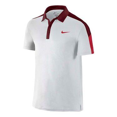 Nike Court Team Polo - White/Team Red