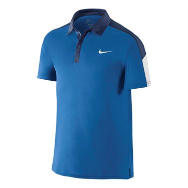 Nike Court Team Polo - Blue Spark