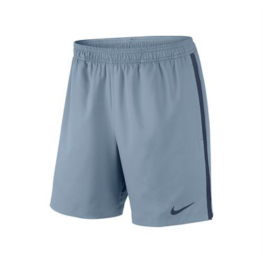 Nike Court 7 Inch Short - Blue Grey/Midnight Navy