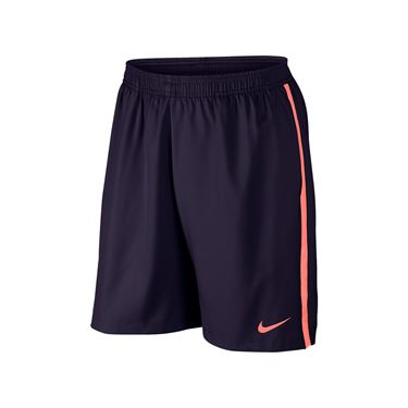 Nike Court 9 Inch Short - Purple Dynasty/Bright Mango