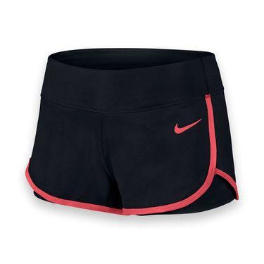 Nike Ace Court Short - Black/Ember Glow
