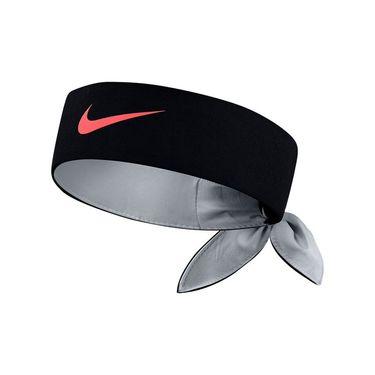 Nike Tennis Headband - Black/Wolf Grey/Hot Punch