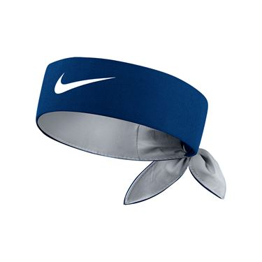 Nike Tennis Headband - Blue Jay/Wolf Grey/White