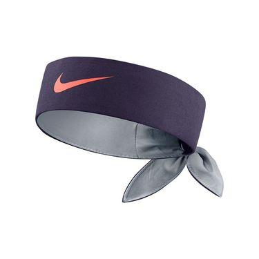 Nike Tennis Headband - Purple Dynasty/Wolf Grey