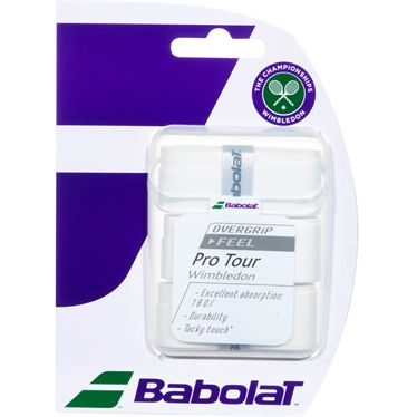 Babolat Pro Tour Wimbledon Tennis OverGrip (3 pack)