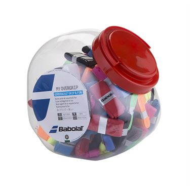 Babolat My Grip Jar 70 Count (Assorted Colors)