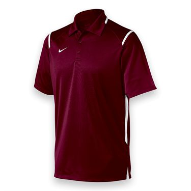 Nike Game Day Polo - Dark Maroon