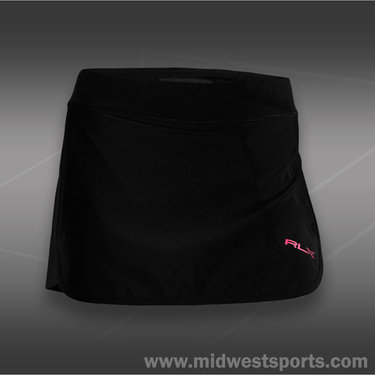 Polo Ralph Lauren Athletic Stretch Skirt-Black