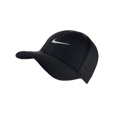 Nike Feather Light Hat - Black/Metallic Silver