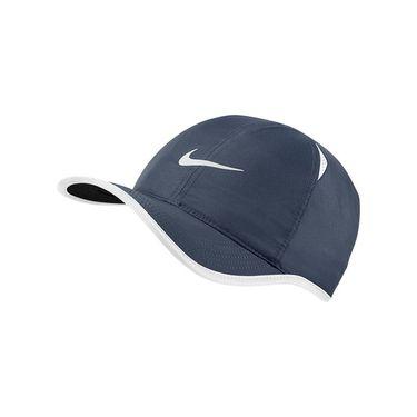 Nike Mens Featherlight Tennis Hat - Thunder Blue/White